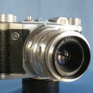 Vintage Altissa Altix V with Excellent Carl Zeiss Jena Tessar 2.8/50 · Made in Germany · ( DDR )