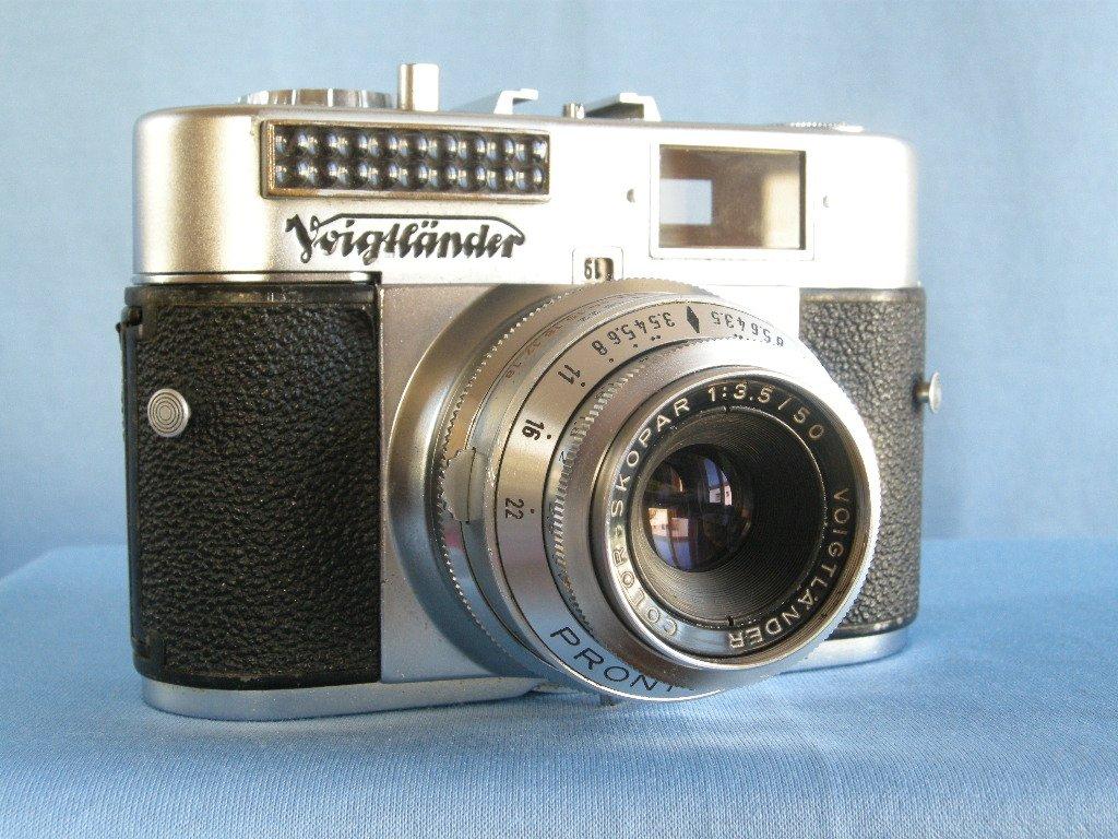 Vintage Voigtlander Vito BL with Color Skopar 3.5 / 50 & Prontor SVS  · Made in Germany