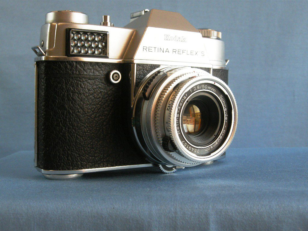 Vintage Kodak Retina Reflex S with Schneider Kreuznach Xenar 2.8/50  ·  Made in Germany