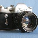 Vintage Soviet Zenit 3M wirh M39 Helios-44 2/58 ( MMZ , Minsk ) · Made in U.R.S.S.