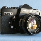 Vintage Petri TTL Black Finish with C.C Auto Petri 1.8/55 · Made in Japan