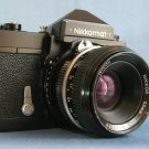 Vintage Nikon Nikkormat with Nikkor 2/50 Lenses  ·  Made in Japan