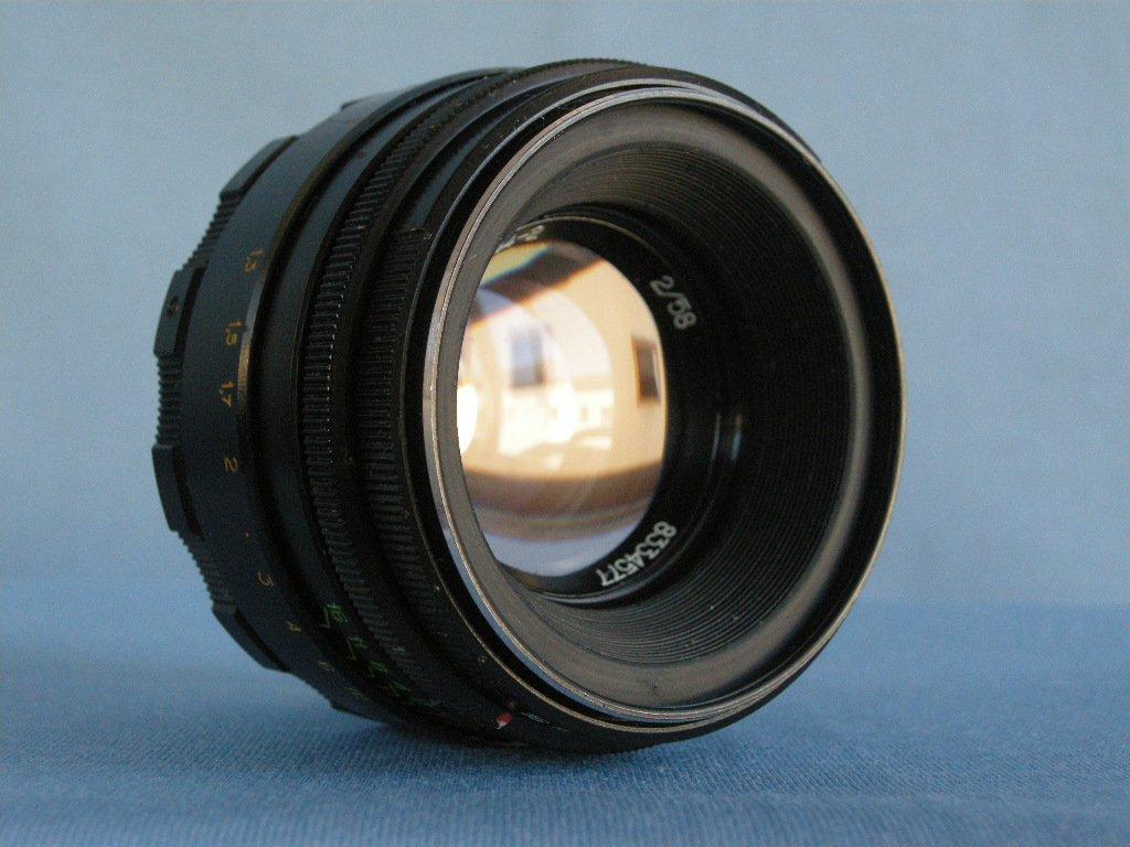 Vintage Soviet M42 Helios-44-2 2/58 Lens  ·  Made in U.R.S.S.  ( MMZ Minsk )