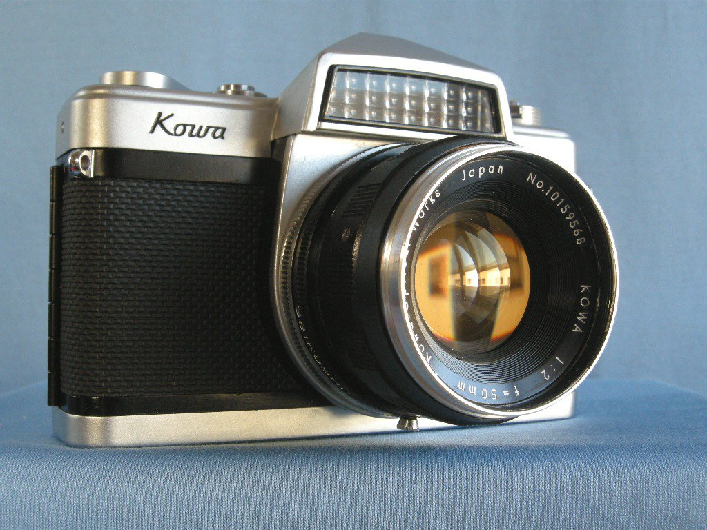 Vintage Kowa Model E with 2/50 Lens  ·  Made in japan