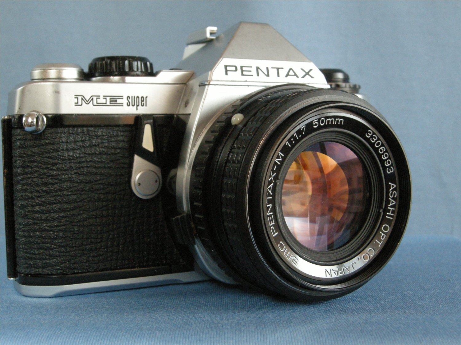 Vintage Pentax ME Super with SMC Pentax - M 1.7/50  ·  Made in Japan