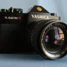 Yashica TL Electro X ITS with Auto Yashikor 2.8/35  ·  Made in Japan