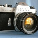 Vintage Pentax Spotmatic SP II with Fujinon 1.8/55 Lens  ·  Made in japan