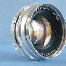 Vintage Voigtlander Septon 2/50 DKL Lens · Made in Germany