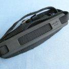 Vintage Camera Strap with Original Minolta Rubber Shoulder Pad & Metal Rings