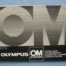 Vintage OLympus OM System Original Chart