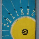 Vintage Zenit C Original Instructions Manual