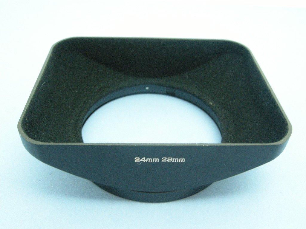 Vintage Konica 24mm & 28mm Original Metal Lens Hood