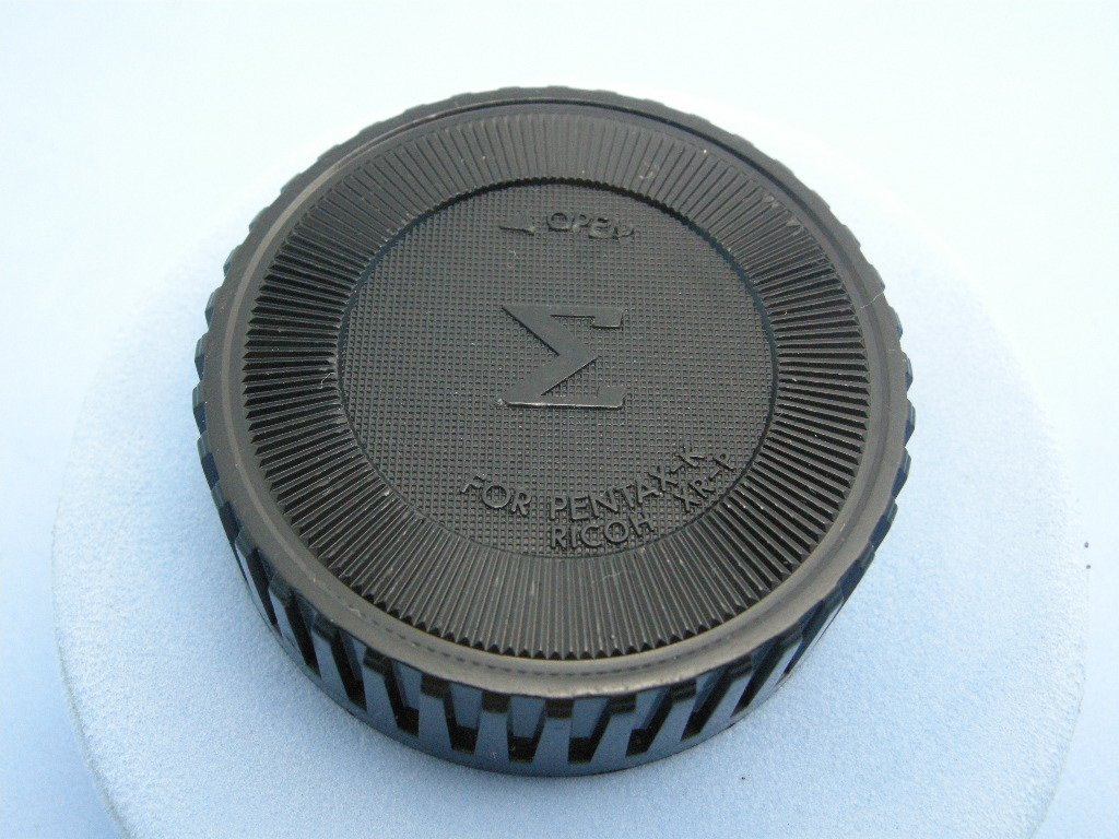 Rare Vintage Pentax K Mount Rear Lens Cap