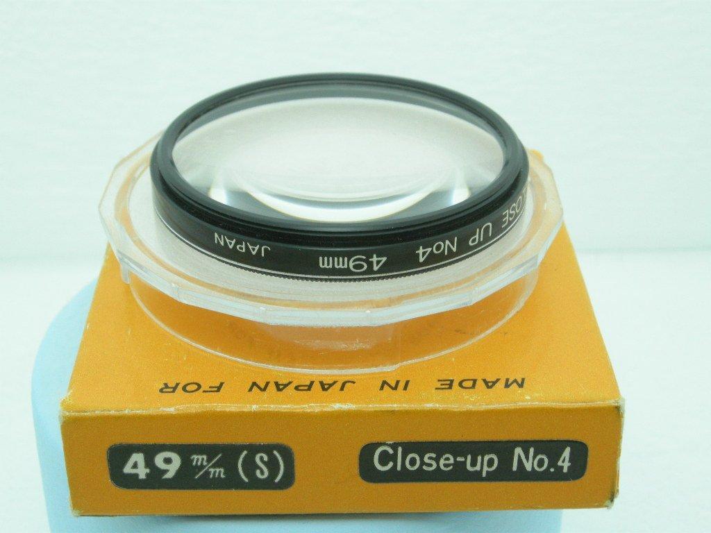 Vintage Fotar Original 49mm Close Up nº 4  Filter  ·  Made in Japan