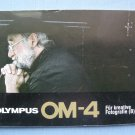 Vintage Olympus OM-4 Original Für A Kreative Fotografie Instruction Manual in German