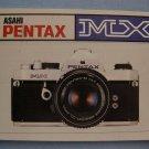 Vintage Pentax MX Original Instruction Manual in German