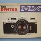 Vintage Pentax MX Original Instruction Manual in Spanish