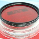 Vivitar 77mm Red No 25 ( A ) Filter in Original Case & Box