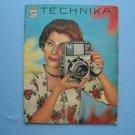 Rare Vintage Linhof Technika Original Sales Brochure in German