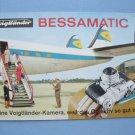 Rare Vintage Voigtlander Bessamatic Original Sales Brochure in German