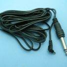 Vintage 4,5 m PC Male - 6,3mm Jack Flash Cord