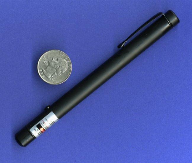 Atlasnova 635nm RED Laser Pointer - ALL BLACK Class IIIa