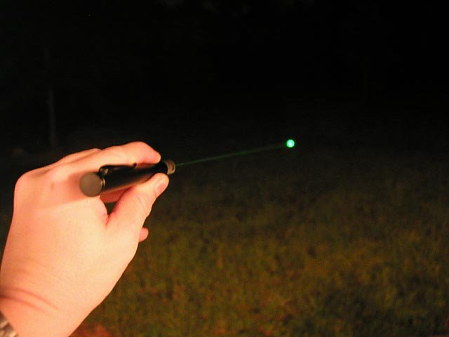 AstroNova I Green Laser Pointer - all Black