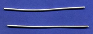 "Pure Silver Wire 9999 4"" (2each) 12 ga by Atlasnova"