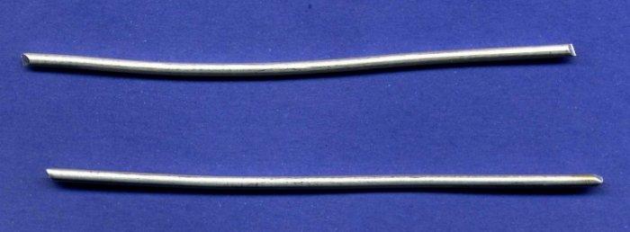 "Pure Silver Wire 9999 4"" (2each) 10 ga by Atlasnova"