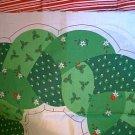 Christmas Stuffed Wreath PrePrinted Fabric Panel U Sew