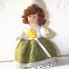 China Doll Christmas Ornament Dollhouse Moveable Joints