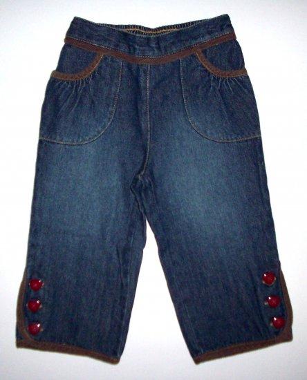 GYMBOREE NWT Mountain Cabin Denim Pants 12-18m