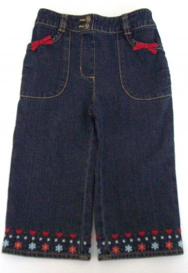 GYMBOREE NWT Mountain Cabin Denim Jeans 12-18 m