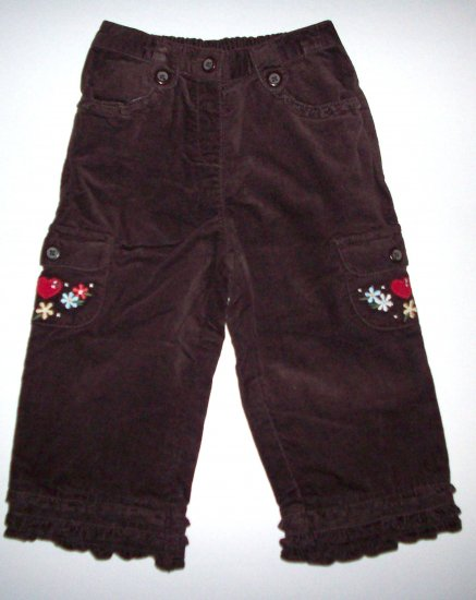 GYMBOREE NWT Mountain Cabin Brown Pants 12-18m
