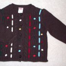 GYMBOREE NWT Mountain Cabin Sweater 12-18m
