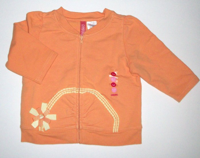 GYMBOREE NWT Wildflower Fields Jacket 6-12m