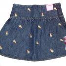 GYMBOREE NWT Aloha Wahine Denim Skirt 5