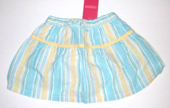 GYMBOREE NWT Pool Party Striped Skirt 12-18m