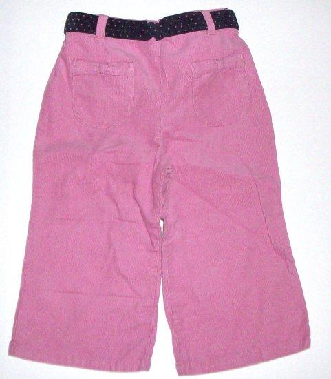 GYMBOREE NWT Chelsea Girl Pink Corduroy Pants 3T