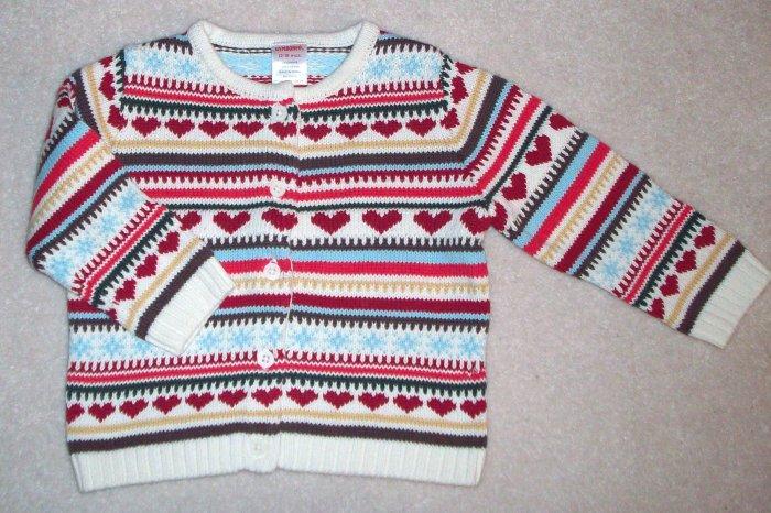 GYMBOREE NWT Mountain Cabin Sweater 18-24m