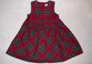 GYMBOREE NWT Mountain Cabin Plaid Dress 18-24 m