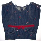 GYMBOREE NWT Mountain Cabin Denim Overalls 2T