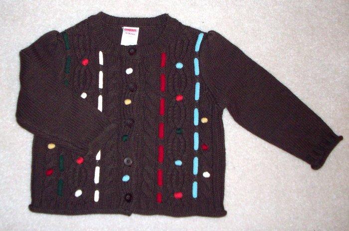 GYMBOREE NWT Mountain Cabin Sweater 2T