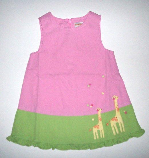 GYMBOREE Jungle Friends NWT Dress 6-12m