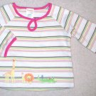 GYMBOREE Jungle Friends NWT Top 6-12 m