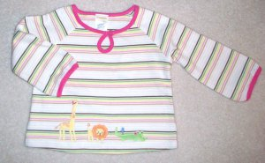GYMBOREE Jungle Friends NWT Top 18-24 m