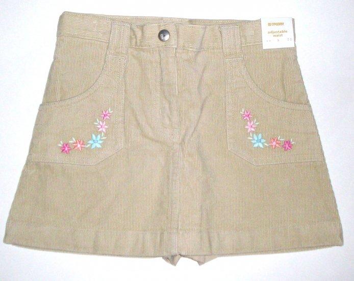 GYMBOREE NWT Park City Luxe Corduroy Skirt 3