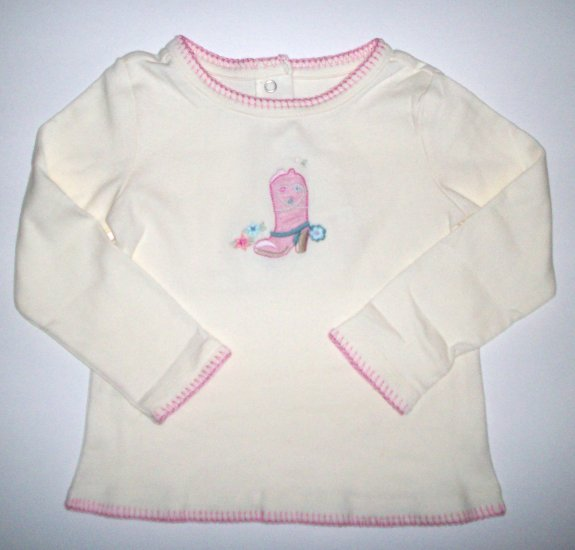 GYMBOREE NWT Park City Luxe Top 3T NEW