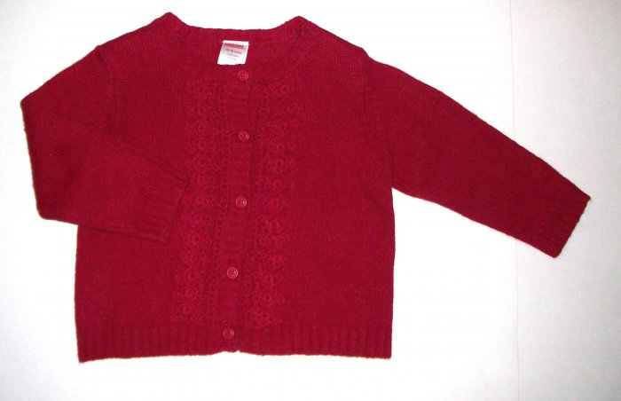 GYMBOREE NWT Holiday Classics Red Sweater 2T NEW