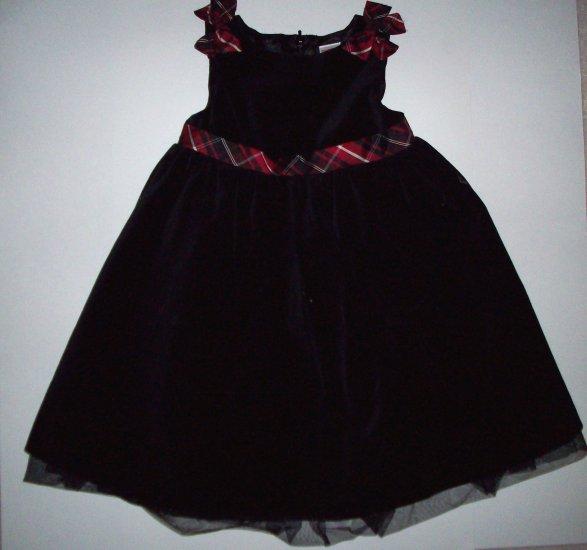 GYMBOREE NWT Holiday Classics Black Dress 3T
